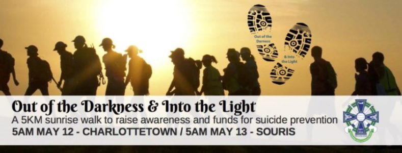 Out of the Darkness & Into the Light – Charlottetown