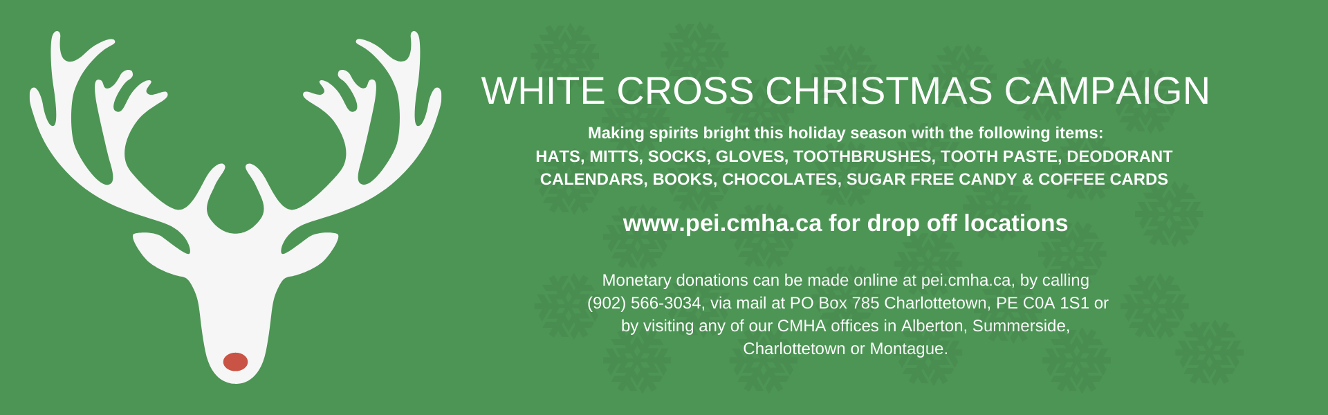 White Cross Christmas Campaign